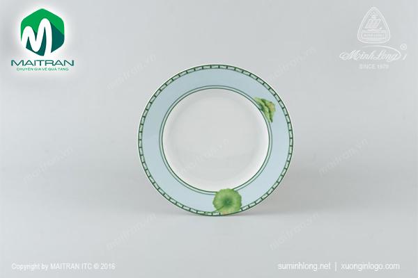Dĩa tròn 22 cm Jasmine Tích Tuyết Thảo
