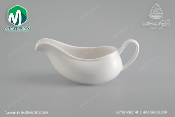 Gầu rót sốt gốm sứ Minh Long Jasmine 0.18L