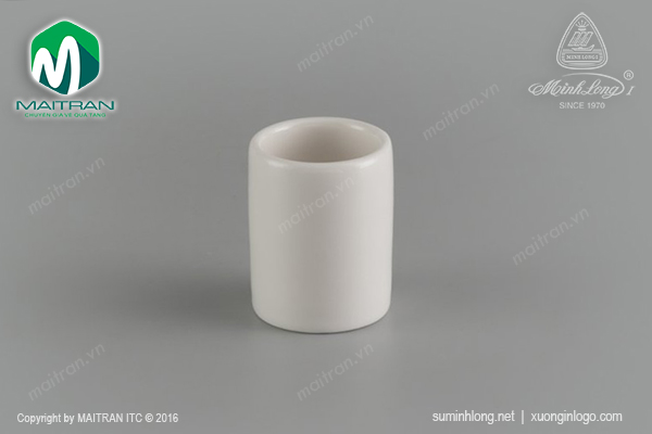 Hủ tăm 5 cm gốm sứ Minh Long Jasmine