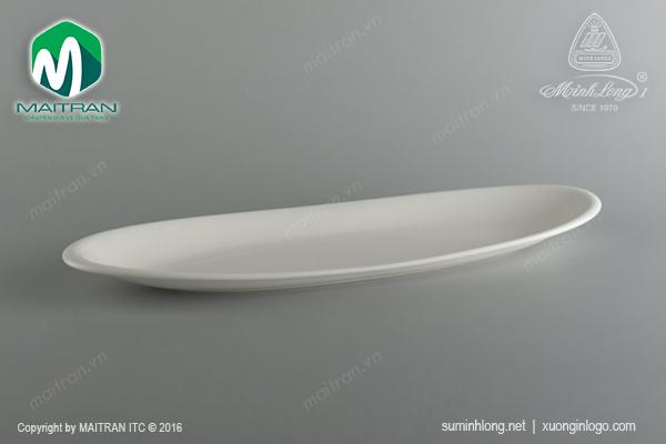 Khay oval Anh Vũ Ly's Horeca 47 x 14 cm