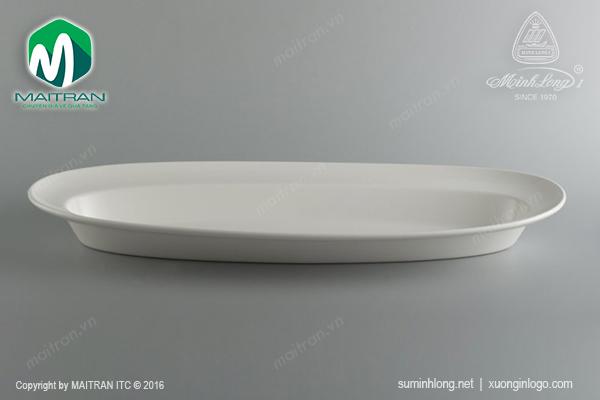 Khay oval Anh Vũ Ly's Horeca 60 x 24 cm