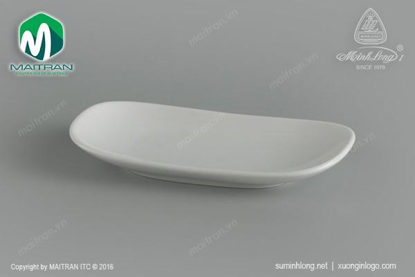 Ly's Horeca gốm sứ Minh Long Khay khăn 13 cm gốm sứ Minh Long Jasmine
