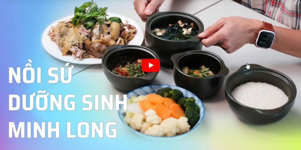 Review siêu chi tiết về bộ nồi dưỡng sinh Minh Long