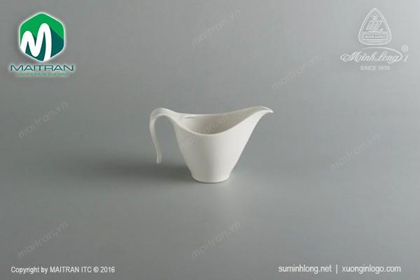 Ly's Horeca gốm sứ Minh Long Rót sữa gốm sứ Minh Long 0.29L Anh Vũ