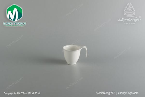 Tách cà phê gốm sứ Minh Long 0.11L Anh Vũ