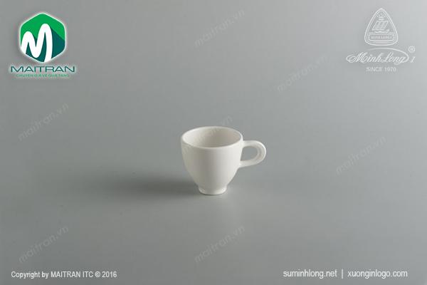 Tách expresso 0.07L gốm sứ Minh Long Daisy
