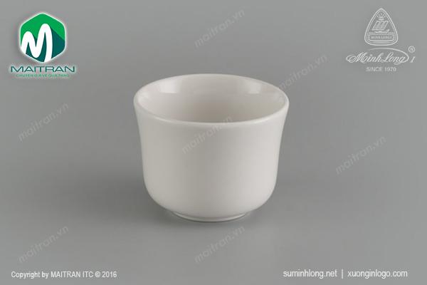 Tách trà 0.16L không quai gốm sứ Minh Long Jasmine