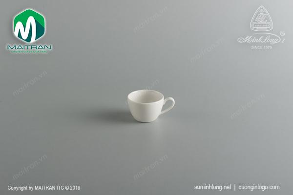 Tách trà 0.07L gốm sứ Minh Long Daisy