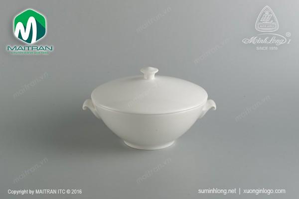 Ly's Horeca gốm sứ Minh Long Thố 1.0L Daisy Ly's Horeca