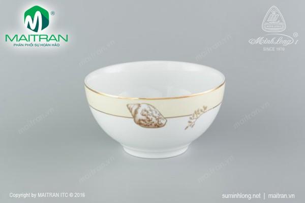 Tô gốm sứ Minh Long Tô Camellia 14 cm Hương Biển Kem