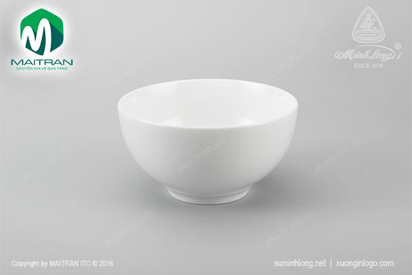 Tô Camellia 14 cm trắng