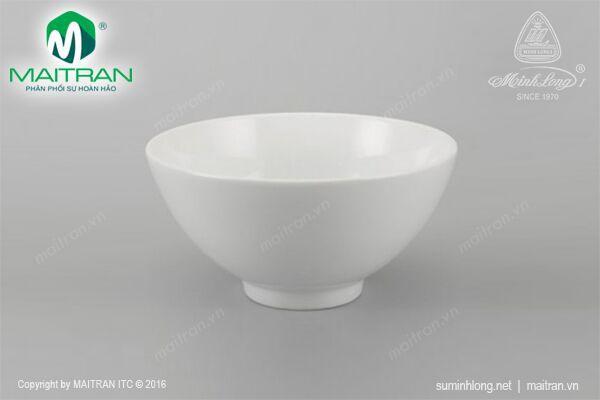 Tô gốm sứ Minh Long Tô cao 20 cm Daisy trắng
