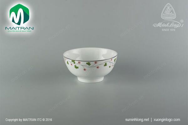 Tô gốm sứ Minh Long Tô cao 20 cm Hoa May Mắn