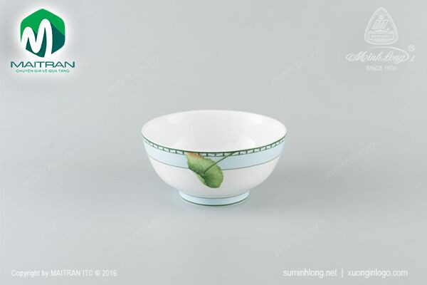 Tô gốm sứ Minh Long Tô cao 20 cm Tích Tuyết Thảo