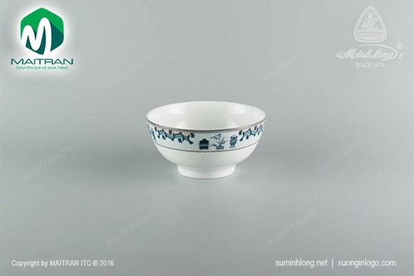 Tô gốm sứ Minh Long Tô cao 20 cm Tứ Quý