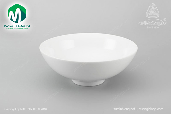 Tô trung 15 cm Daisy trắng